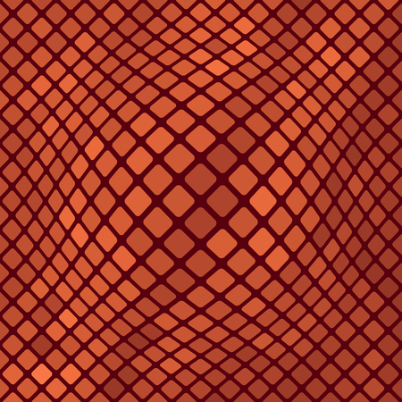 harmonic: Red Diagonal Square Pattern. Abstract Red Square Background Illustration