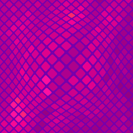 polychromatic: Pink Square Pattern. Abstract Pink Square Background