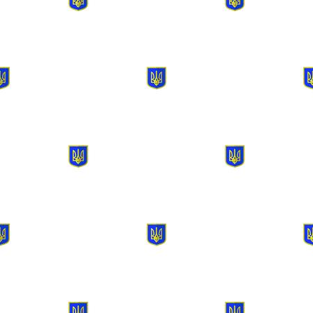 unitary: Symbol of Ukraine Background. Seamless Ukrainian Pattern