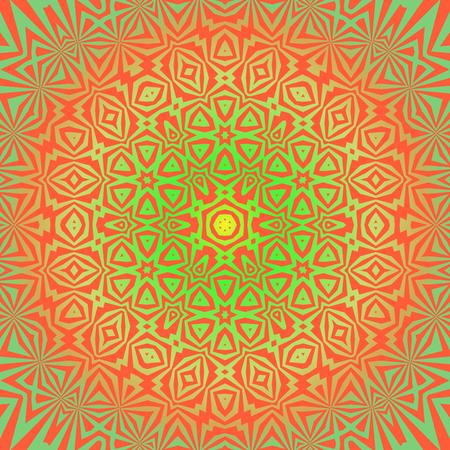 Creative Ornamental Colored Pattern. Geometric Decorative Background