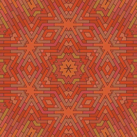 brick background: Ornamental Red Brick Background. Textured Stone Pattern Stock Photo