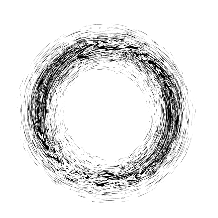 Grunge Ink Background. Textured Black Splatters. Dust Overlay Distress Grain. Grune Blob Pattern Illustration