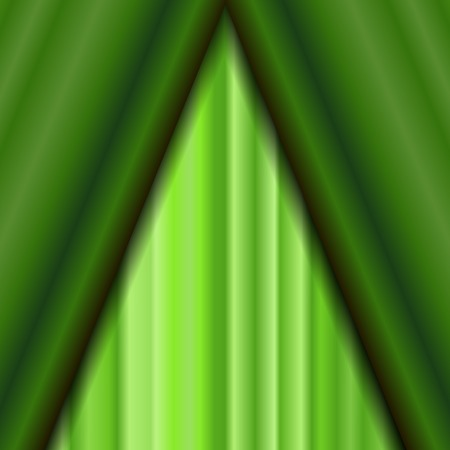 sipario chiuso: Cinema Closed Green Curtain. Green Textile Pattern. Cinema Stage. Vettoriali