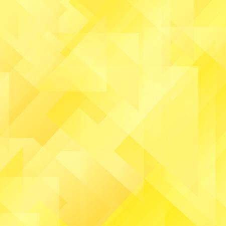 Abstract Yellow Pattern. Geometric Yellow Futuristic Background Illustration