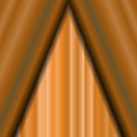 sipario chiuso: Cinema Chiuso Arancione Curtain. Modello Orange Textile. Cinema Stage.