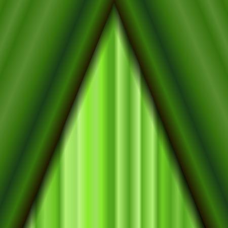 sipario chiuso: Cinema Closed Green Curtain. Green Textile Pattern. Cinema Stage. Archivio Fotografico