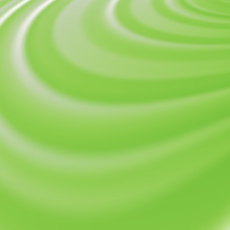green swirl: Abstract Glowing Green Waves. Smooth Swirl Light Background