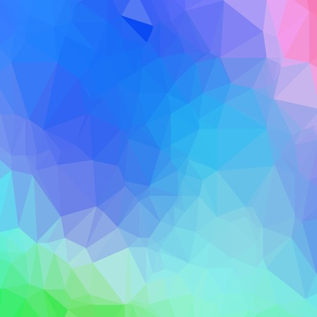 Abstract Colorful Triangle Background. Modern Mosaic Pattern. Template Design for Banner, Poster