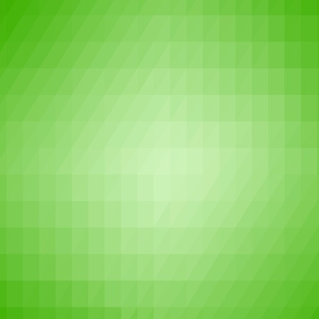 Abstract Green Triangle Background. Modern Mosaic Pattern. Template Design for Banner, Poster