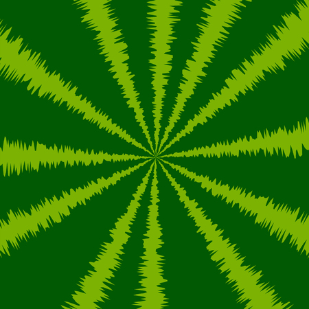 Striped Green Watermelon Background. Natural Berry Pattern