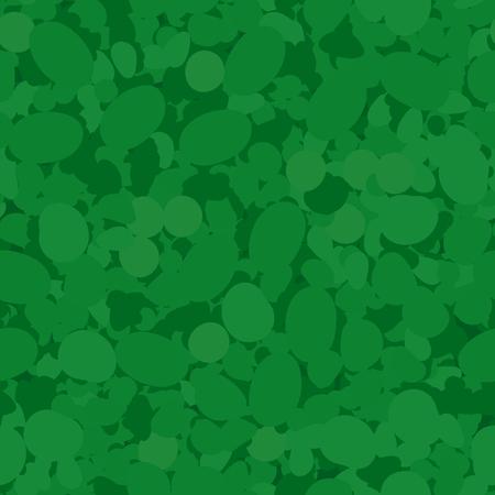 Green Circles Seamless Pattern. Mosaic Wall Texture Stock Illustratie