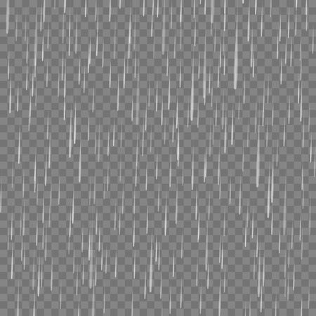 Rain Drops Pattern on Grey Checkered Background
