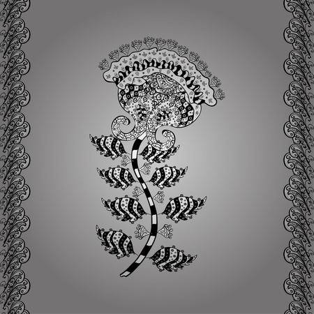 ornamentation: Vintage beautiful background with rich, old style, luxury ornamentation