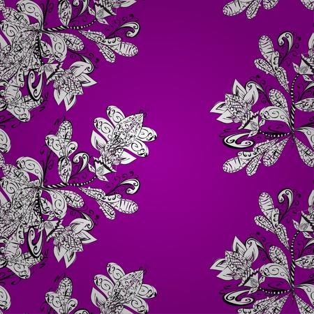 flores abstractas: Textura con las flores abstractas. Vectores