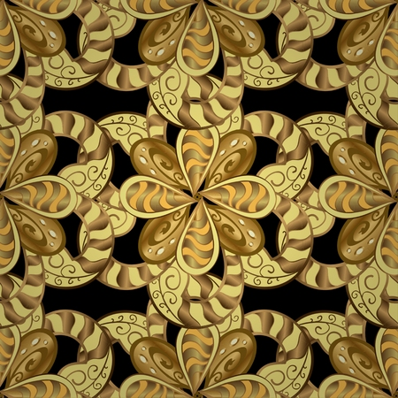 classic style: Abstract beautiful background, royal, damask ornament, vintage, rich seamless pattern, luxury, artistic vector wallpaper, floral, oldest style fashioned arabesque fabric for decoration and design
