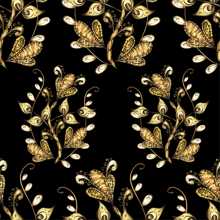 royal background: Abstract beautiful background, royal, damask ornament, vintage, rich seamless pattern, oldest style fashioned arabesque fabric for decoration and design