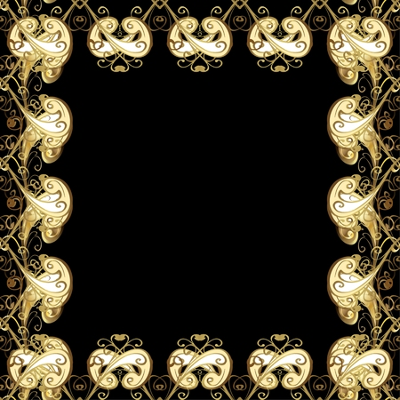 fashioned: Abstract beautiful background, royal, damask ornament, vintage, rich seamless pattern, luxury, artistic vector wallpaper, floral, oldest style fashioned arabesque fabric for decoration and design