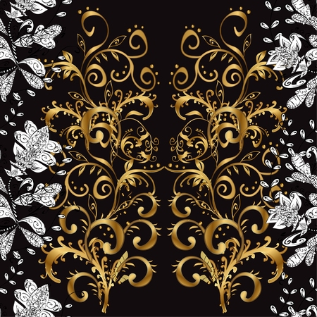 royal background: Abstract beautiful background, royal, damask ornament, vintage, rich seamless pattern, luxury, artistic vector wallpaper, floral, oldest style fashioned arabesque fabric for decoration and design