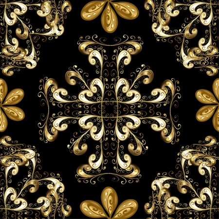 fashioned: Abstract beautiful background, royal, damask ornament, vintage, rich seamless pattern, luxury, artistic wallpaper, floral, oldest style fashioned arabesque fabric for decoration and design