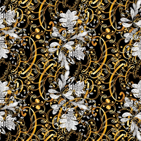 lineage: Abstract beautiful background, royal, damask ornament, vintage, rich seamless pattern, luxury, artistic vector wallpaper, floral, oldest style fashioned arabesque fabric for decoration and design