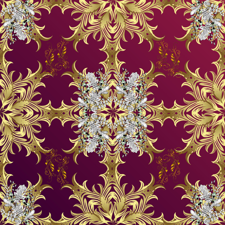 oldest: vintage pattern on dark red and brown gradient background with golden and white elements.