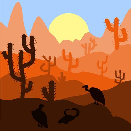 4 120 desert sunrise stock vector illustration and royalty free rh 123rf com Easter Sunrise Clip Art Easter Sunrise Clip Art