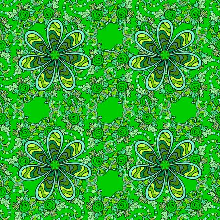 oriental rug: Mandalas background. vector illustration texture. Colorful elements. Illustration