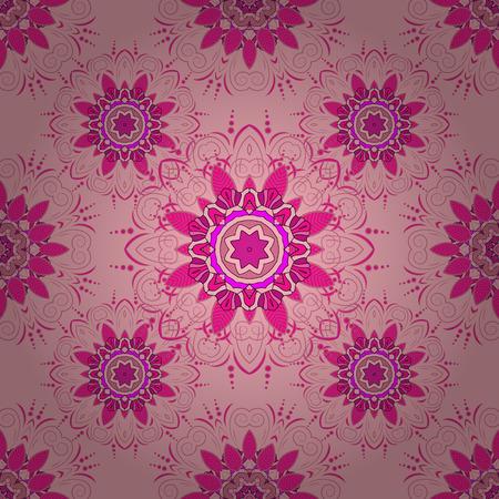 Mandalas background. Vector illustration texture. Colorful elements. Radial gradient shape. Illustration