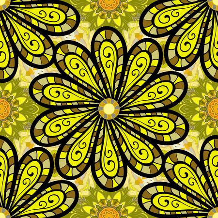 Radial gradient illustration texture