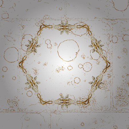 tillable: Traditional orient ornament. Classic vector golden pattern. Pattern on white background with golden elements. Classic vintage background.