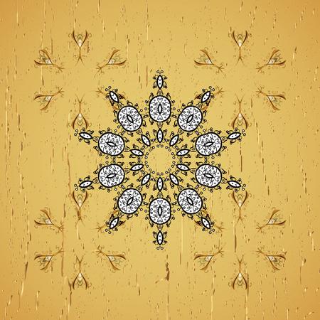 럭셔리 가구. 푸른 녹. 조각. 골드 트림과 노란색 배경입니다. 요소 목각. 고전적인 스타일의 가구. 작은 피사계 심도. 황금 요소와 노란색 배경에 패턴입니다.