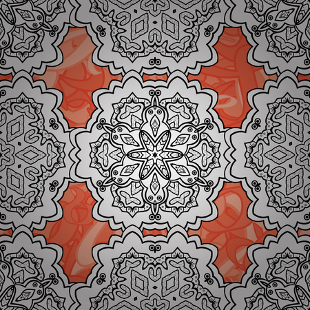 distinguished: Seamless classic vector and white pattern. Traditional orient ornament. Classic vintage background.