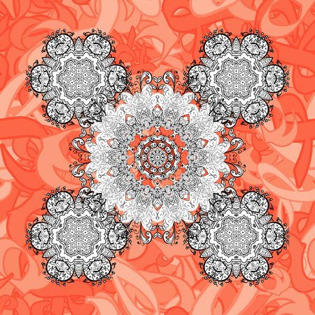 Damask seamless ornament. Traditional vector and white pattern. Classic oriental pattern over background.