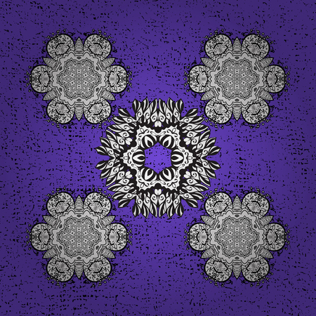 Oriental ornament in the style of baroque. Traditional classic grunge pattern. Vector oriental ornament. Grunge pattern on background with grunge elements.