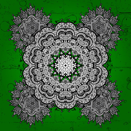 victorian christmas: Grunge elements on background. Sketch baroque, damask. Floral pattern. Vector background. Stylish graphic pattern.