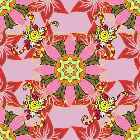 rug texture: Seamless pattern with floral motif. Seamless floral pattern with flowers, watercolor. Vector flower illustration. Illustration