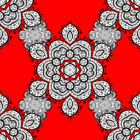 Vector traditional orient ornament. Illustration