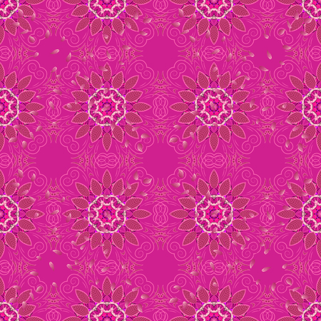 Small colorful flowers. Spring floral background with flowers. The elegant the template for fashion prints. Motley illustration. Vector cute pattern in small flower. Çizim