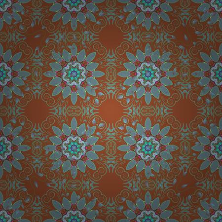 Vector Colored Mandala. Ornament invitation card Vintage decorative elements on a background. Tribal, Boho, Bohemian style, for flash tattoo. 版權商用圖片 - 75652599