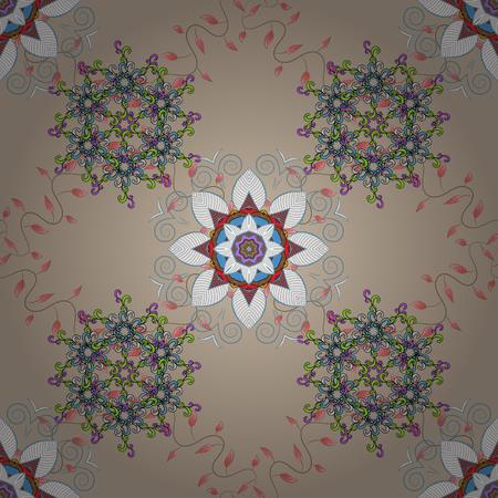 Patrón floral transparente. Vector resumen de antecedentes florales. Patrón sin fisuras con muchas pequeñas flores.