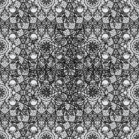 grey background texture: Paisleys elegant floral vector seamless pattern background sketch illustration with vintage stylish beautiful modern 3d line art white and gray paisley flowers leaves and ornaments. Illustration