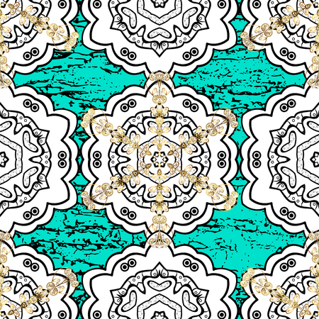 Sketch baroque, damask. Pattern floral pattern. Graphic modern pattern. Vector background.