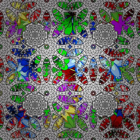 Simple geometric mandala . Gentle coloredfor boutique, flower shop, business, interior. Vector company mark, emblem, element. Surround abstract blossom.