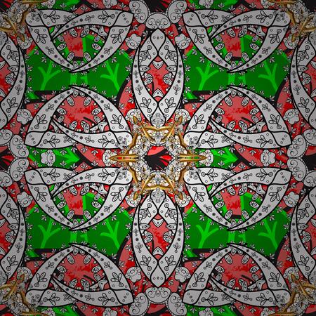 Back. Vector oriental ornament frame with decorative colored foil. Design for fashion banner, label, bridal shower or wedding invitation.