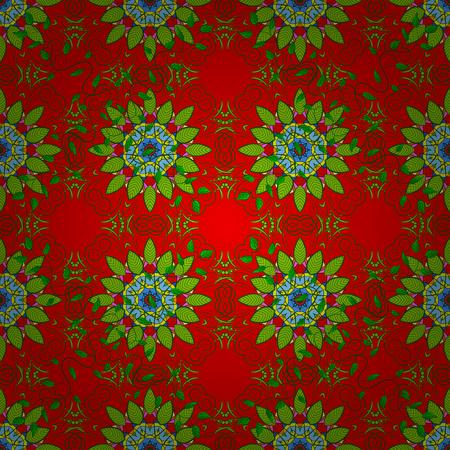 Floral nahtlose Muster mit hellen Sommer Blumen in Farben. Endlose Vektor-Textur für romantisches Design, Dekoration, Grußkarten, Poster, Verpackung, für Textildruck und Stoff.