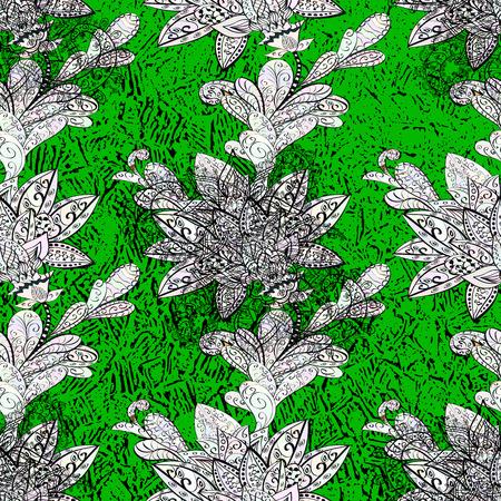 Pattern floral pattern. Sketch baroque, damask. Vector background. Graphic modern pattern.