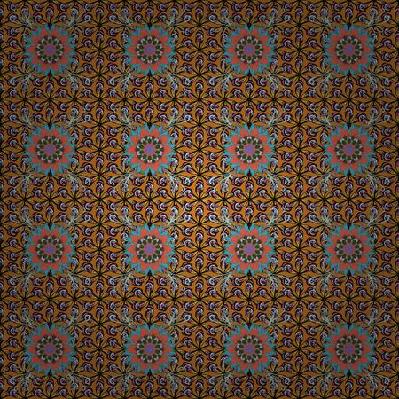 rt: Seamless pattern with Mandalas. Vector ornaments, background. Seamless pattern with abstract ornament.
