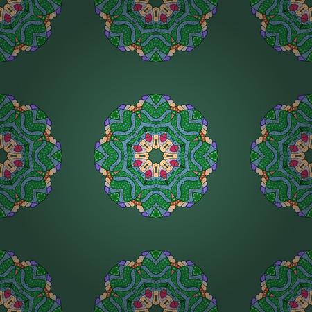 admirable: Decorative vector ornate colored mandala icon for card, colored Mandala on a colorful background. For invitation card, scrapbook, banner, postcard, tattoo, yoga, boho, magic, carpet, tile or lace.