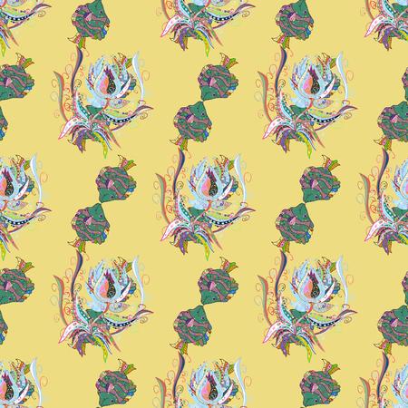 Dekorative Vektor verzierten farbigen Mandala-Symbol für Karte, farbige Mandala auf einem bunten Hintergrund. Für Einladungskarte, Gästebuch, Banner, Postkarte, Tattoo, Yoga, Boho, Magie, Teppich, Fliesen oder Schnürsenkel. Standard-Bild - 79351863