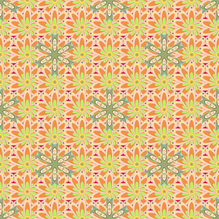 Seamless pattern with flowers. Floral watercolor seamless background. Vector textile print for bed linen, jacket, package design, fabric and fashion concepts. Illustration